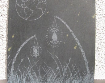 On the Ground: Soft Ground Etching and Screenprint