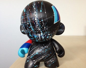 7in Motorsport Munny hand painted by emKel - MADE TO ORDER