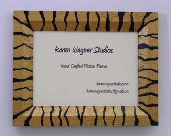 Tiger Stripe Picture Frame