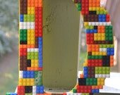Legos- Lego Art- Lego Name- Teenage Boy Room Decor- Boys Room Decor- Lego Wall Decor- Personalized Letter- Boys Room Art