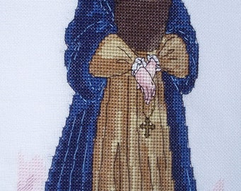 KL110 Catherine of Aragon Counted Cross Stitch Kit