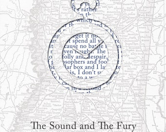 The Sound and The Fury Poster Print