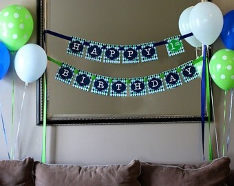 Golf Banner - INSTANT DOWNLOAD Printable Golf Party Birthday Banner by Printable Studio