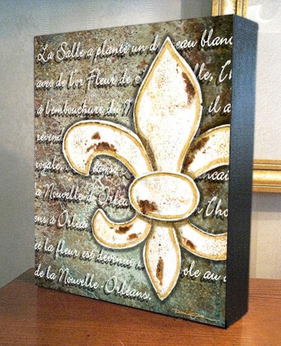 Fleur De Lis Wall Decor Fleur De Lis Orléans
