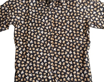 Popcorn Printed Shirt - Extra Large