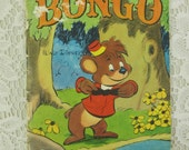 Walt Disney's Bongo, 1948 Story Hour Series First Edition, Walt Disney's Fun and Fancy Free Hard to Find Softcover