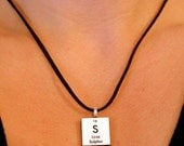 Science Personalized Necklace - Chemistry - Periodic Table Jewelry - Sulphur