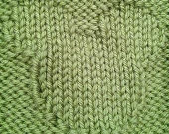 Knitting Mickey Mouse Pattern : Hidden Mickey Knit Baby Blanket PDF Pattern