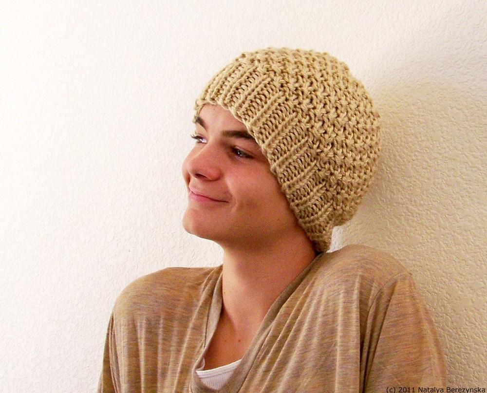 Mens Hats Knitting Patterns : Knitting Pattern Mens Hat Pattern Knit Hat Pattern Chunky