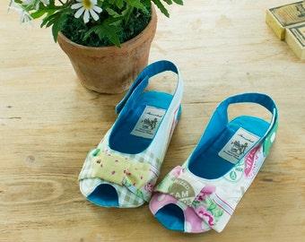 no 242 Anabelle Girl's Sandal Sewing PDF Pattern(Toddler-Girl)