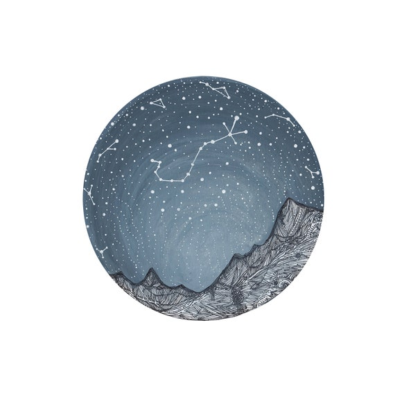 Scorpio Constellation, Fine Art Print- Scorpio and the Blue ridge Mountains