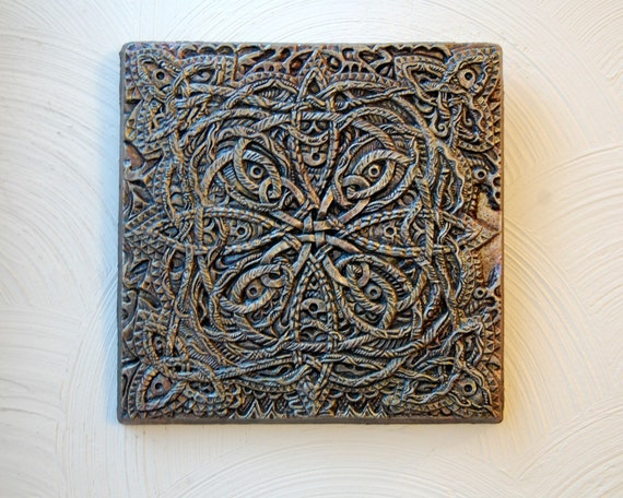 Celtic Odyssey Outdoor Wall Art Celtic Knot By