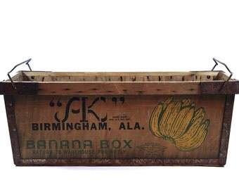 Vintage Wood Crate Yukon Jack Shipping Crate By Huntandfound