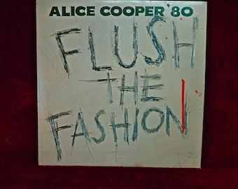 ALICE COOPER - Flush the Fashion - 1980 Vintage Vinyl Gatefold Record Album