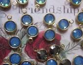 Vintage Swarovski Opal Sky Blue Drops
