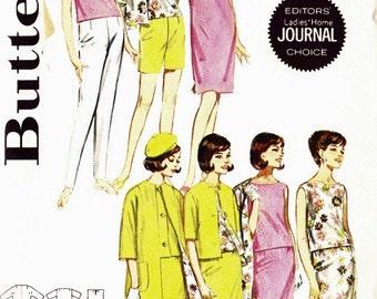 Butterick 2704 Sportswear separates Reversible Coat/Jacket Dress Pants Top Skirt Size 12 Ladies' Home Journal Editor's Choice