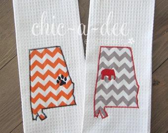 Auburn Or Alabama Kitchen Towel
