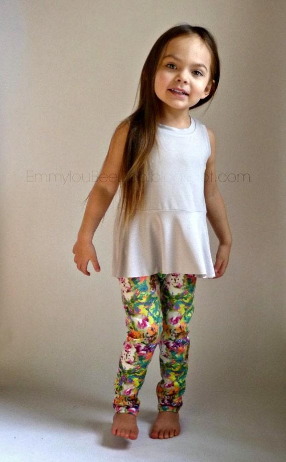 Hosh Pants Pdf Digital Sewing Pattern Slim Fit Pants Toddler
