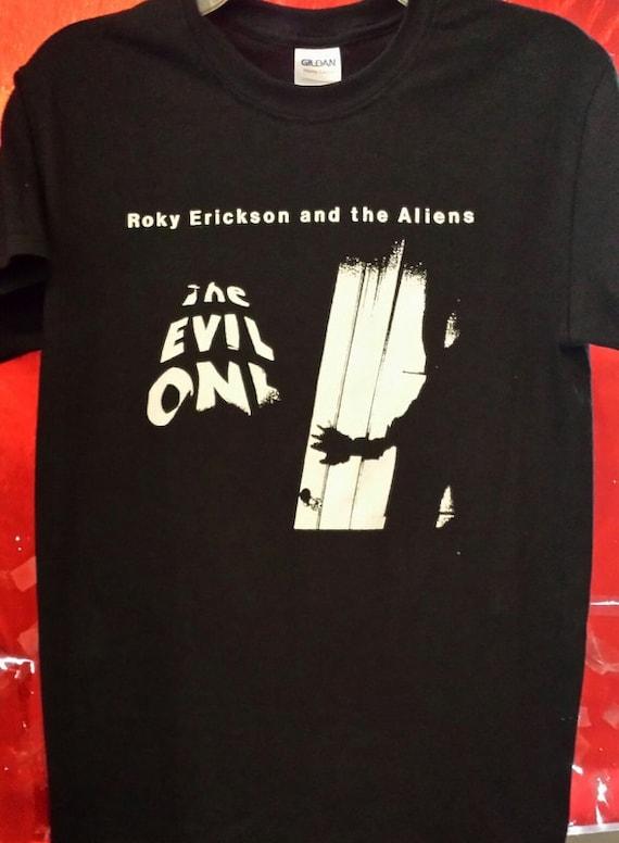 Roky erickson the aliens shirt evil one 13th floor elevators for 13th floor elevators shirt