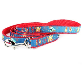 Small Leash red and blue - Monter Mosh