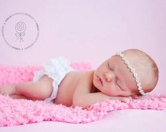 Pink Baby Blanket Newborn Baby Girl Photo Prop Newborn Girl Photography Prop Newborn Baby Blanket Cotton Candy Bubblegum Pink Fluffy Blanket