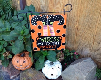 Halloween Fall Garden Flag Yard Decor Halloween Decoration Halloween Yard Decoration