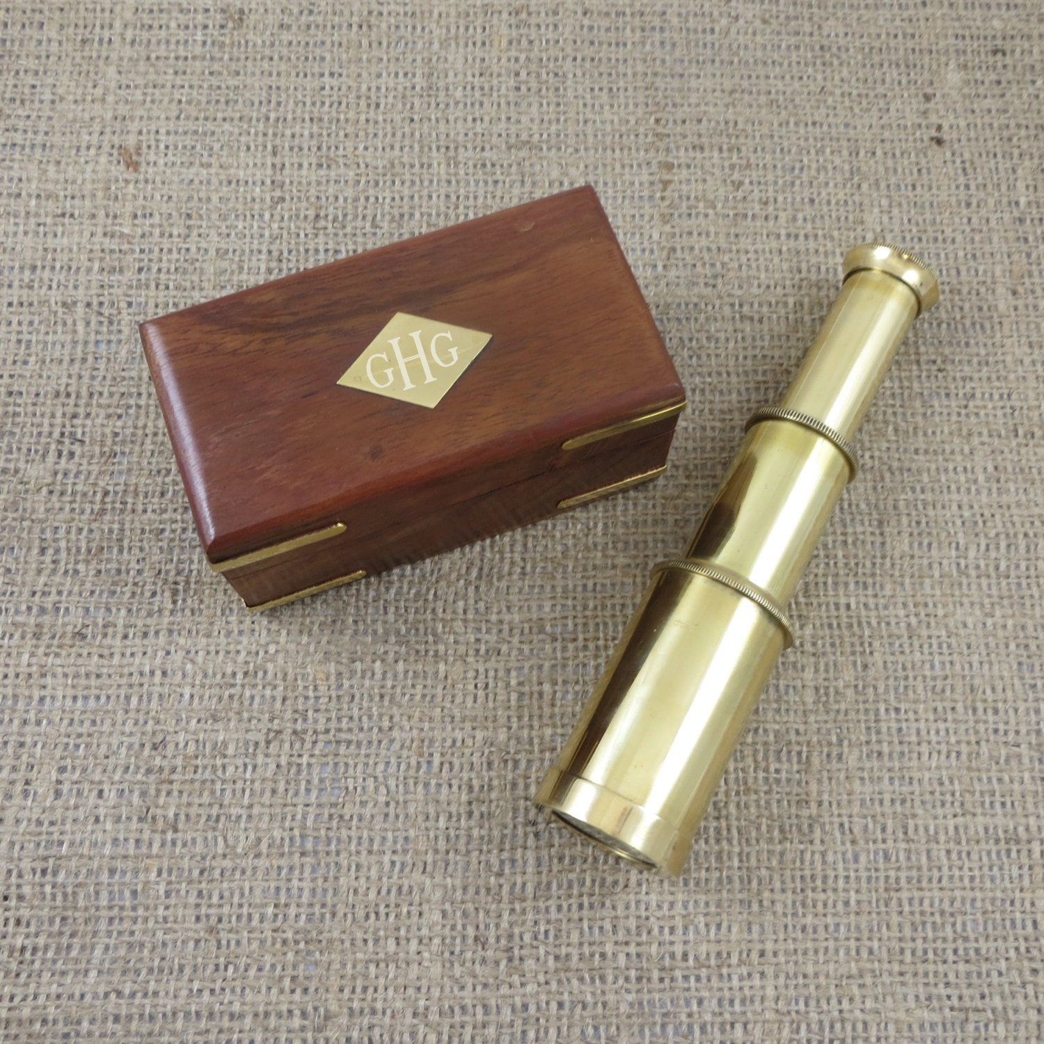 Brass Telescope Personalized Nautical Gift Engraved Z-003