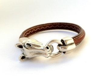 horse bracelet, mens bracelet,  bracelet for mens, equestrian bracelet, western silver, cowgirl bracelet, rodeo bracelet, women bracelet