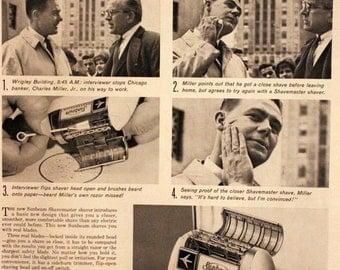 Vintage kobler electric shaver