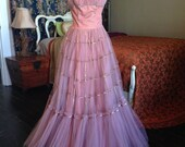 Special Vintage Ball Gown Princess Dress for Prom or Alternative Wedding