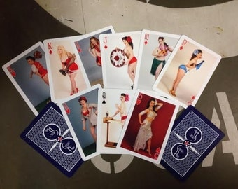 Classic Pinup Deck of Cards