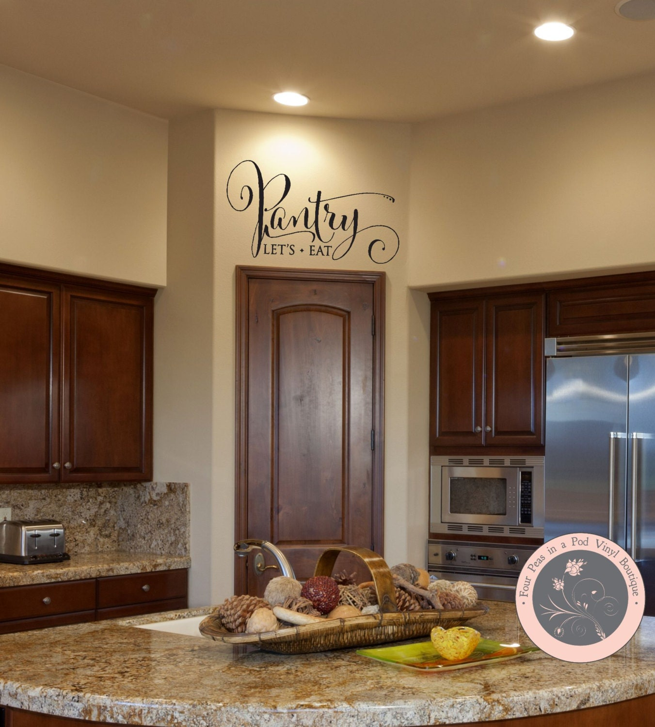 Wall Decals For The Home Pantry Wall Decal Kitchen Wall