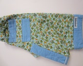 Quilty Pants, lined pants for babies, size 6-12 months. Fish Print.