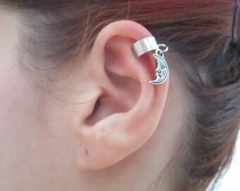 Tiny Moon ear cuff wrap