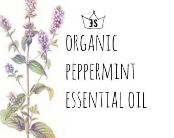 Organic Peppermint Oil - Peppermint Essential Oil - Pure Essential Oils - Certified Organic Essential Oils