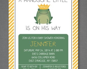 little prince baby shower invitation baby boy shower invitation boy baby shower invitation