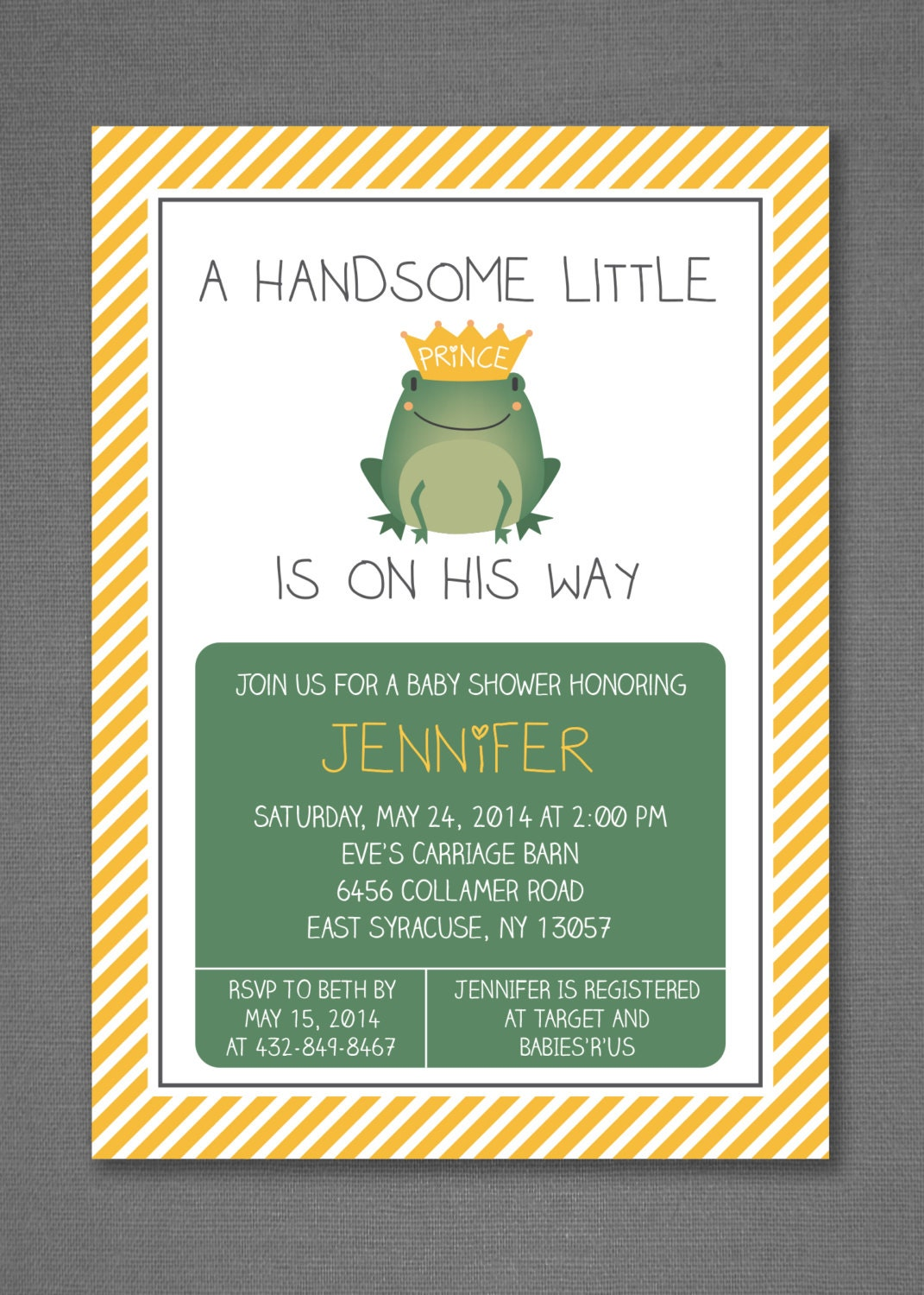 little prince baby shower invitation baby boy shower