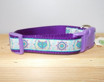 Flora Fox Dog Collar