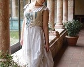 Hunt of the Unicorn wedding gown