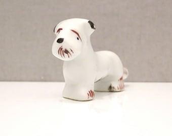 Japanese Miniature Scottish Terrier Figurine