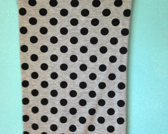 1980s Polka Dot Tube Skirt