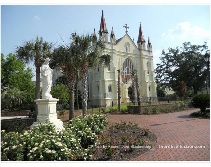 Spring Hill College Photograph - St. Joseph's Chapel - Mobile Alabama