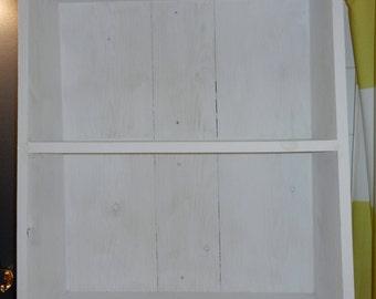 two tiered shelf