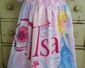 Elsa Disney Frozen Pheasant style dress 4/5 girls