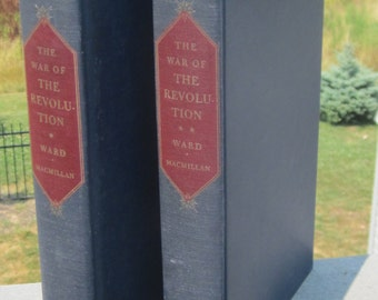 1952 The War of The Revolution by Christopher Ward First Edition 2 Volumes
