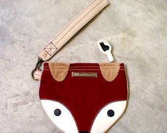 Wristlet - The Fantastic Fox (BURGUNDY)