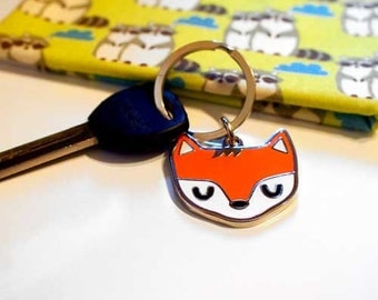 Keychain Bag Charm - The Fantastic Fox (Key Chain/Bag Charm)