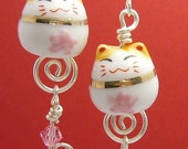 Maneki Neko Cat earrings id1190530