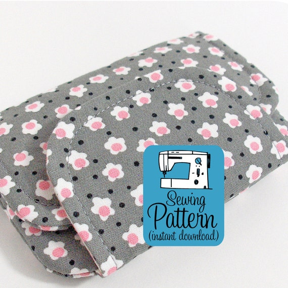 Zip Pocket Pouches PDF Sewing Pattern (Instant Download)