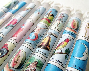 Mexican Wedding Favors Loteria Bubble Wands Destination Wedding Welcome Bags Birthday Favors